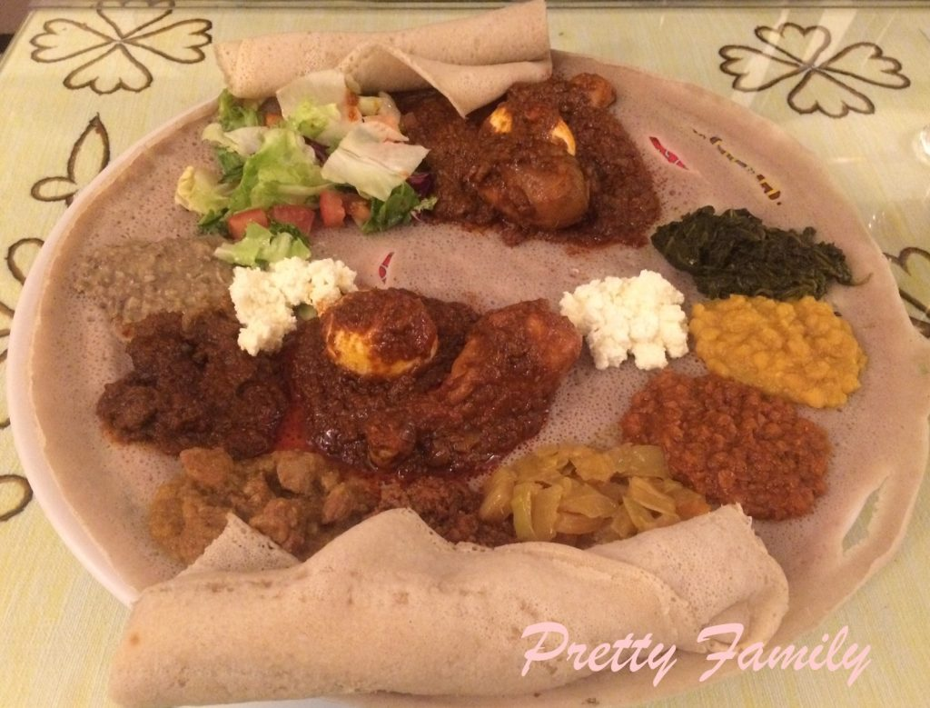 plat ethiopien