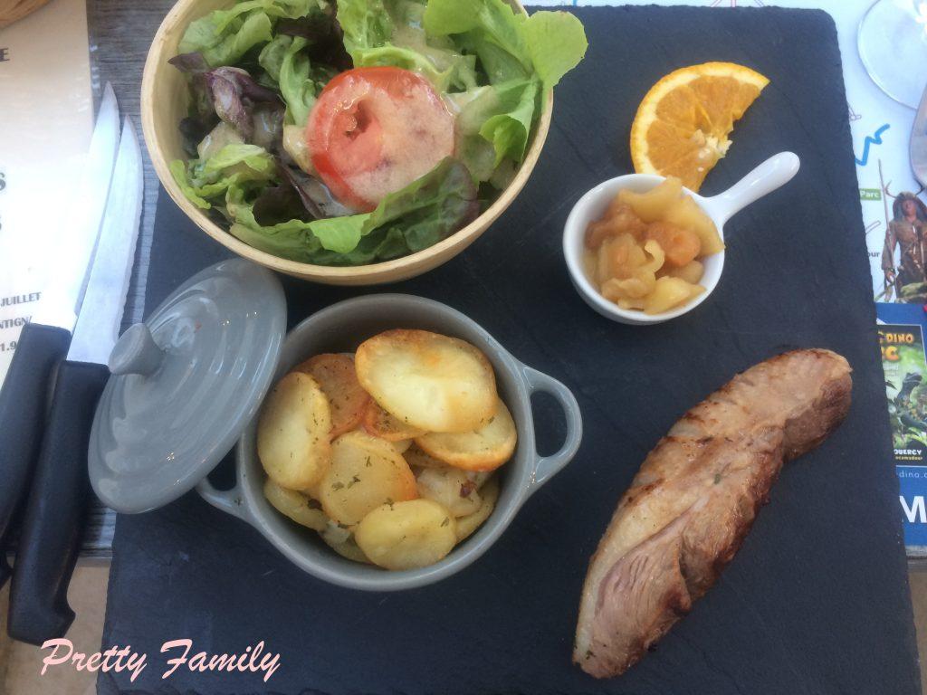 repas salardais